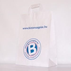 Papírfüles papír reklámtáska